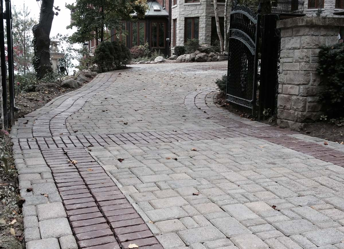 Granite square flagstone resurface
